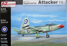 AZ Models 1/72 AZ7599 Supermarine Attacker FB.2   Model Kit