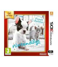 Nintendo Nintendogs Cats Bulldog Select 3DS