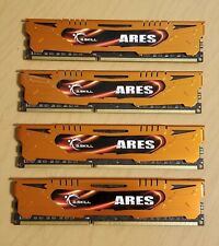 16GB (4 x 4GB) G.Skill DDR3 2133MHz Ares Series Low Profile (CL 11-11-11)