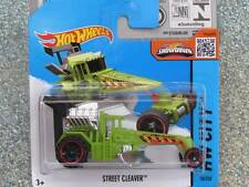 Hot WHEELS 2015 # 010/250 Street Cleaver vert hw city london case E