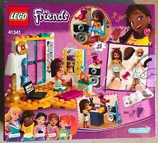 LEGO Friends Andrea's Bedroom 41341 85 Piece Building Set Toy NIB Pepper