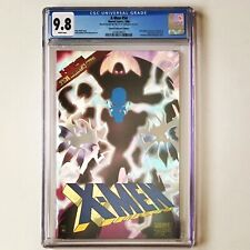 X-MEN # 54 CGC 9.8 PRISM FOIL 1996 w/COA Prismatic SPECIAL COLLECTOR'S EDITION