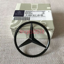 Luggage Lid Star Logo Trunk Rear Emblem W212 Modified E Class AMG Gloss Black