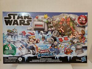 Star Wars Micro Force Advent Calendar Holiday Display Mini Hasbro E5605  opened