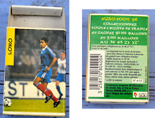 Boîte d'allumettes vide footballeur Patrice Loko, 1996