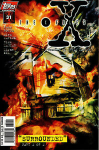 THE X-FILES #31 DIRECT SALES EDITION NM+ FIRST PRINT 1995 TOPPS COMICS