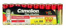 100 x Camelion AA Batterie LR6 1,5V Plus Alkaline High Energy lose in Folie