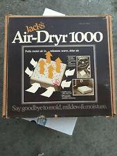 Jack's Air-Dryr 1000, Original In Box, Say Goodbye to Mold, Mildew & Moisture