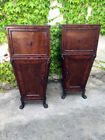 Pair of Charles X Cabinets from Genoa in Mahogany  - Restored (in progress)