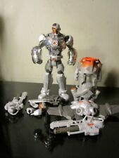 DC Comics Total Heroes Ultra CYBORG Action Figure! complete loose~