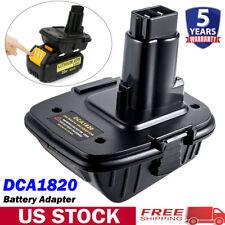 18Volt To 20Volt MAX DCA1820 Battery Adapter For Dewalt Li-ion Tools Converter