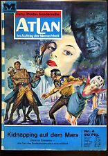 ATLAN--Perry Rhodan Sonderreihe --Kidnapping auf dem Mars-- Nr. 4 -- Romanheft