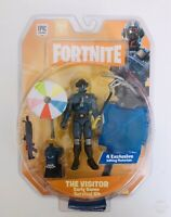 """Fortnite Early Game Survival Kit The Visitor Intentions Unkown 4/"""" Figure FNT0107"""