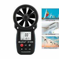 Digital Anemometer LCD Wind Speed Gauge Handheld Air Flow Meter 866B 0.3-30M/s