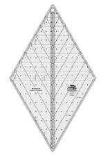 Creative Grids 60 Degree Diamond Ruler Cuts Diamonds, Hexies and Triangles