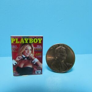 Dollhouse Miniature Detailed Replica Men's Playboy Magazine B054