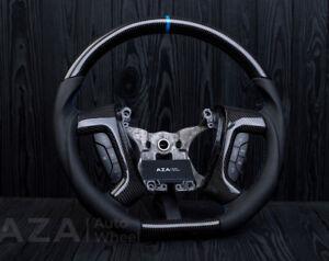 Hummer H2 Steering Wheel 2008+ Custom Carbon Fiber