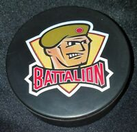 BRAMPTON BATTALION VINTAGE OHL JR. A OFFICIAL SLUG VICEROY CANADA HOCKEY PUCK