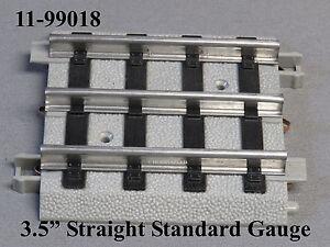 "MTH STANDARD GAUGE REALTRAX 3.5"" STRAIGHT TRACK Lionel Tinplate 11-99018 NEW"