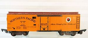 American Flyer S Gauge by Gilbert Vintage  647 Northern Pacific Reefer 1952