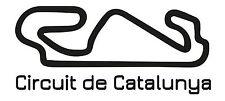 Catalunya corsa circuito, Auto Adesivo Vinile spagnolo F1 GRAND PRIX FORMULA UNO