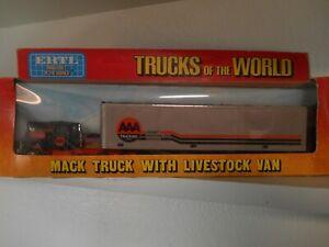 Trucks of the World 1/64 Ertl Mack AAA Trucking Corp. Cargo Van.  #1346