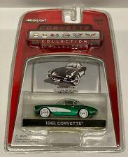 Greenlight 1:64 Corvette Collection 1961 Corvette GREEN MACHINE