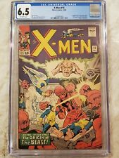 X-Men 15 cgc 6.5 2nd Appearance Of the Sentinels! 1st App Master Mold 3758297005
