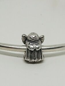 Authentic Pandora Sterling Silver ALE 925 ANGEL OF HOPE Charm Bead  #790337