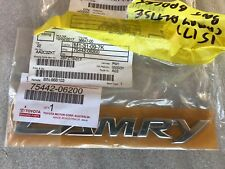 TOYOTA Rear Boot Lid Camry Name Badge Camry 2011 Part Number: 75442-06200