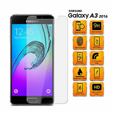 Genuine 9H Tempered Glass Screen Protector Protection For Samsung Galaxy A3 2016