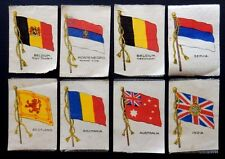 FLAGS 1915 GALLAGHER 8/24 Silk Cigarette Cards