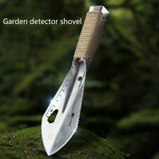 Serrated Edge Digger Metal Detecting Garden Detector with Sheath Stainless Steel