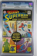 Superman Annual Vol 1 #4 (DC, 1961) CGC 3.5