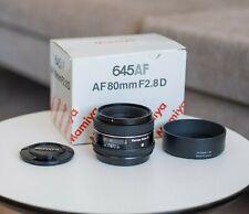 """Mamiya Sekor """"D"""" AF 80mm f2.8 lens for Mamiya 645 AF / Phase One 645 AF"""