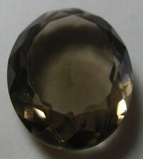 BEAUTIFUL HUGE 60CT OVAL NATURAL EARTH MINED SMOKY TOPAZ  FROM SRI LANKA