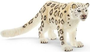 SCHLEICH Wild Life Snow Leopard Toy Figure Zoo Plastic Animal Figurine Age 3yrs+