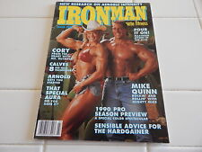 "IRON MAN MAGAZINE  ""CORY EVERSON"" COVER    MARCH 1990"