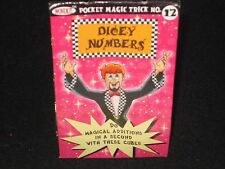 Dicey Numbers Magic Trick - Close Up, Pocket, Math Skill, Be An Addition Genius!