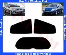 Pre Cut Window Tint Citroen C2 3D  2003-2010 Rear Window & Rear Sides Any Shade