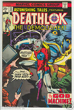Astonishing Tales Deathlok the Demolisher comic #33 F+ Bronze Age 1970s