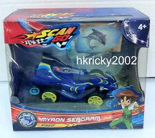 New Boy Scan2Go Myron Seagram Slazor Racer + Power Card & Turbo Card Figure Pack