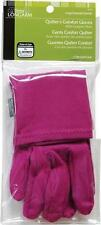 Dritz Longarm QUILTER'S COMFORT GLOVES LARGE - With Gripper Dots - Arthritis