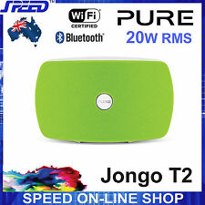 PURE Jongo T2 Wireless WiFi Bluetooth® Speaker System - 20W RMS - Lime Green