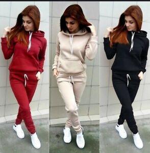 Tuta donna completo fitness sport maglia  felpa pantaloni invernale s /m/l/
