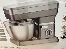 Clatronic KM 3630 Küchenmaschinen, 8 Geschwindigkeitsstufen (0/1/2/3/4/5/6 + Pul