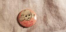 Vintage Celluloid Hi! I'M Ginny Vogue doll button pinback