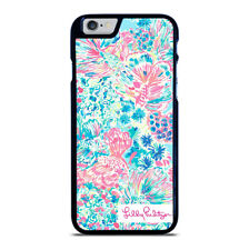 LILLY PULITZER FISH iPhone 5 5S 6 6S 7 8 PLUS X XR XS 11 Pro Max Phone Case