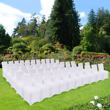 50/100Pcs Spandex Stretch Folding Chair Covers For Wedding Party Event Banquet