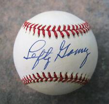 Lefty Gomez Single Signed Official Major League Baseball Autographed JSA Cert